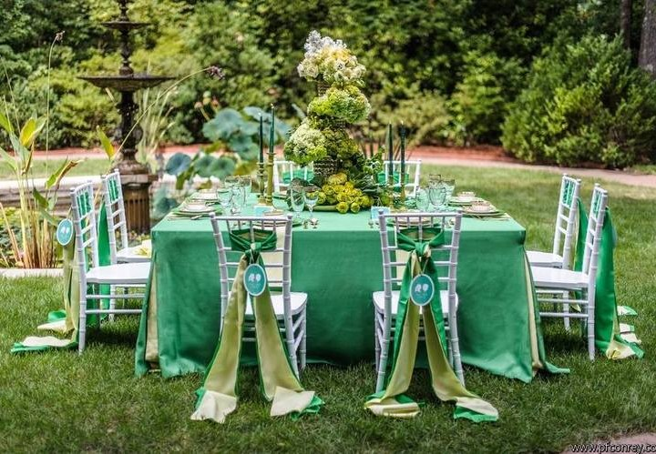Spring Green | Southern Bride