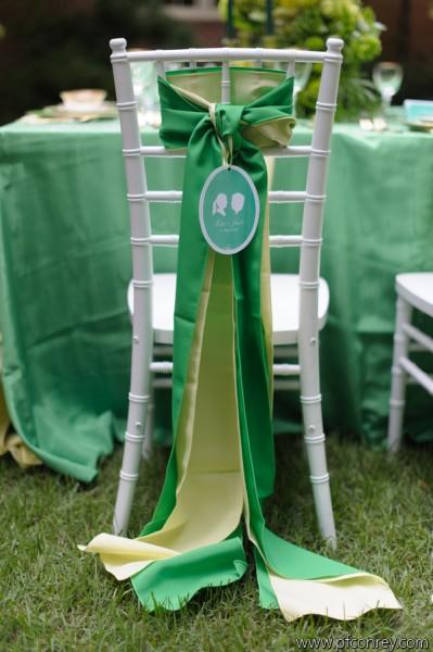 green wedding2