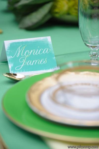 green wedding3