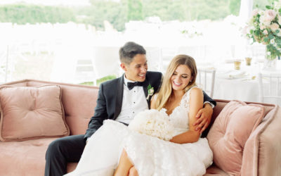 Behind the Scenes: Sarah Kathryn & Samuel's Gorgeous Garden Wedding